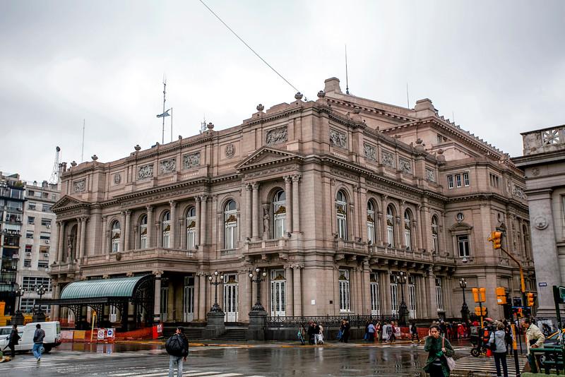 BUENOS AIRES CAPITAL. TEATRO COLON. COLON THEATRE. BUENOS AIRES.