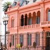 BUENOS AIRES. BALCONY OF EVITA MOVIE (MADONNA). CASA ROSADA. PLAZA DE MAYO (MAY SQUARE).