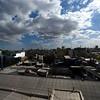 BUENOS AIRES. LA BOCA. VIEW AT LA BOCA FROM THE ROOF OF MUSEO DE LAS BELLAS ARTES DE LA BOCA. QUINQUELA MARTIN.