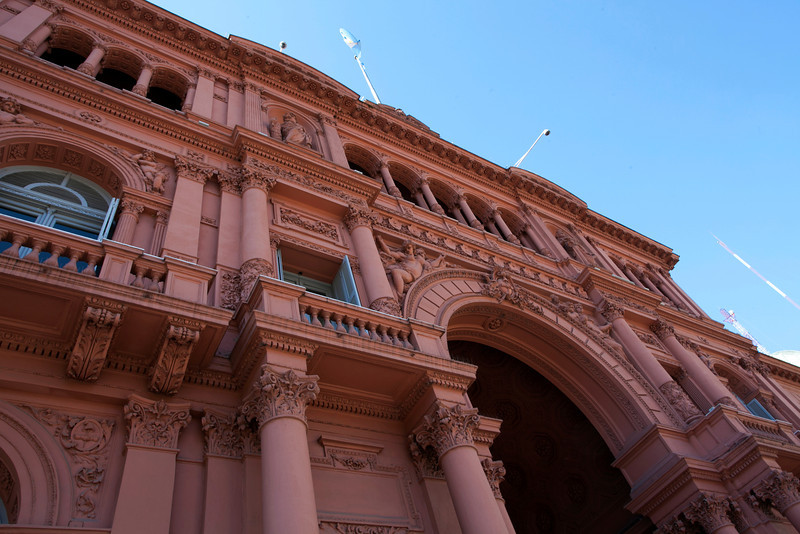 BUENOS AIRES CAPITAL. CASA ROSADA. PRESIDENTIAL PALACE. [CASA DE GOBIERNO] BUENOS AIRES [DF].