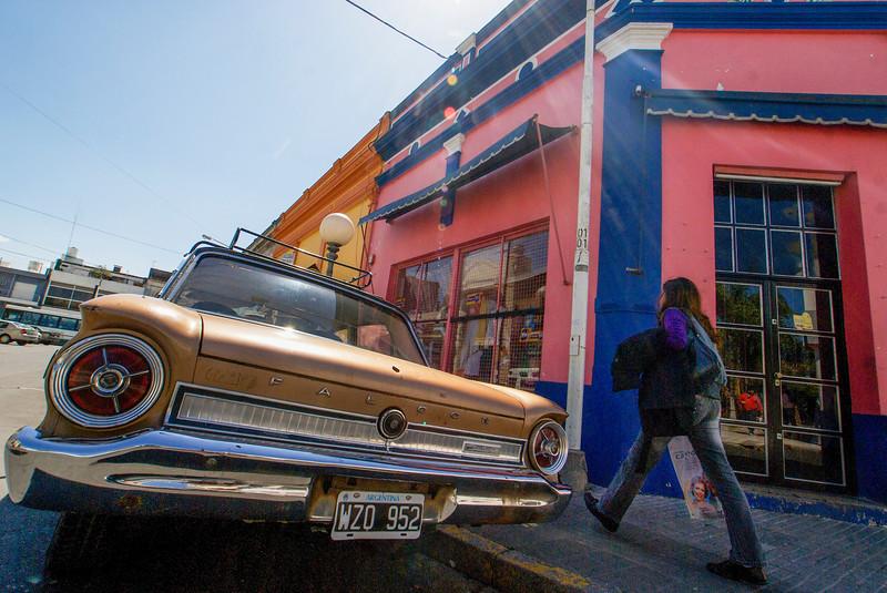 PARANA. ENTRE RIOS. OLD FALCON CAR.