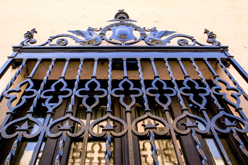 CORDOBA. CORDOBA PROVINCE. WINDOW. LA MANZANA JESUITICA. JESUIT AREA [UNESCO WORLD HERITAGE SITE].