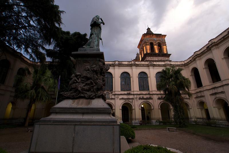 COURTYARD. UNIVERSITY BUILDING. LA MANZANA JESUITICA. JESUIT AREA [UNESCO WORLD HERITAGE SITE]. CORDOBA. CORDOBA PROVINCE.