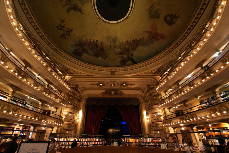 BUENOS AIRES. CD AND BOOK STORE.