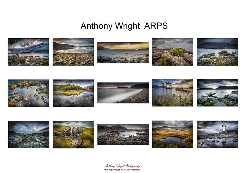 Anthony Wright ARPS Hanging Plan