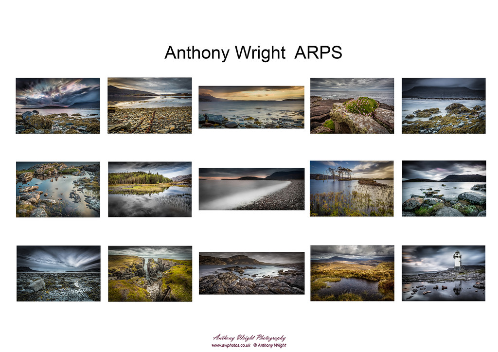 Anthony Wright ARPS Hanging Plan