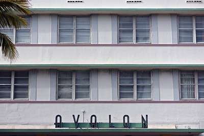 The Avalon, Ocean Drive, Miami