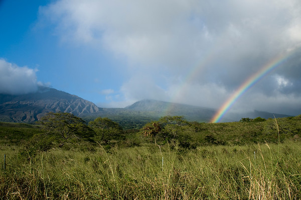 Kaupo Gap Double Rainbow