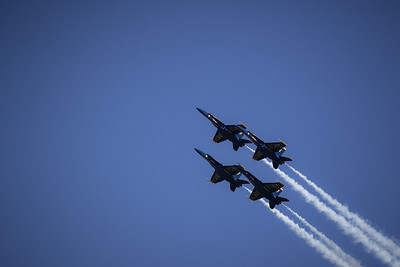 Blue Angels at SFO's Fleet week