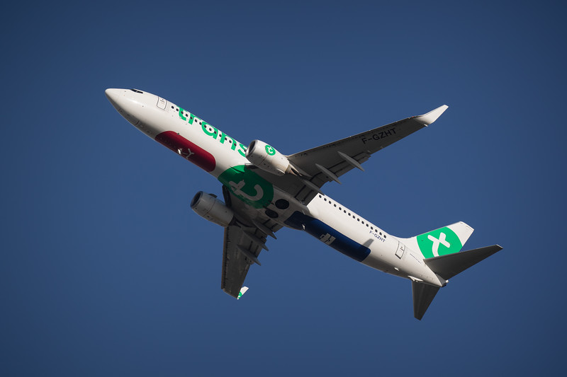Transavia B737 Leaving Orly