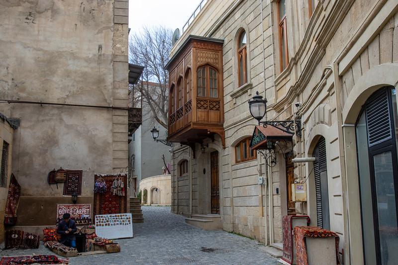 Old city of Baku, Azerbeijan