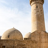 Royal mosque inside the palace of the Shirvanshahs in the old city of Baku, Azerbaijan