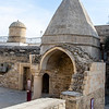 Mausoleum of Seyd Yahya (state astronomer) - Palace of the Shirvanshahs in the old city of Baku, Azerbaijan