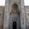 Exterior of the dynastic mausoleum inside the Palace of the Shirvanshahs in the old city of Baku, Azerbaijan