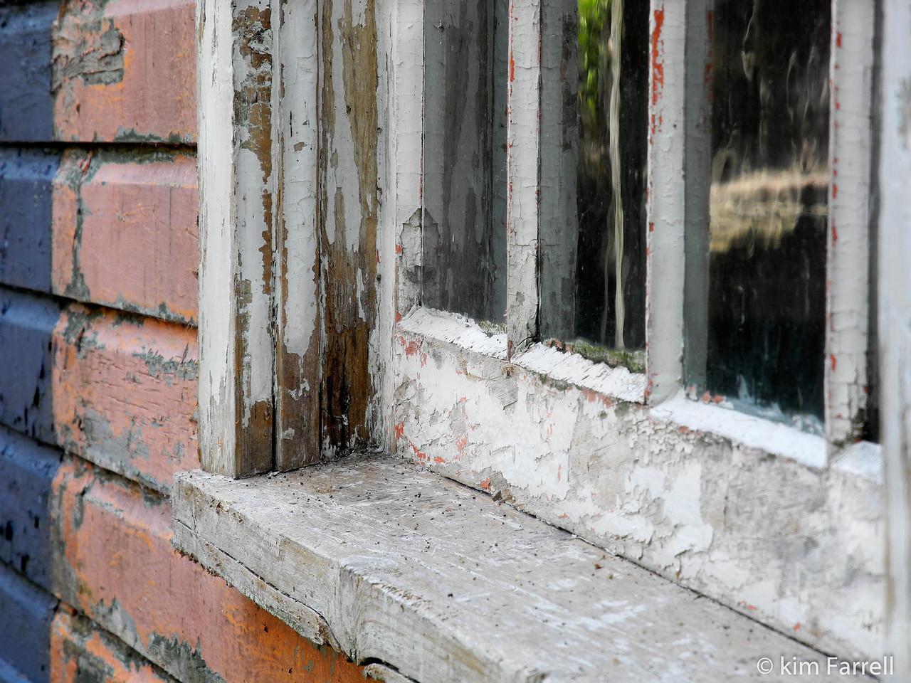 Boat house window.