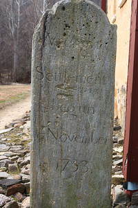 "Inscription says ""Wachovia Settlement Begun November 1753"" . Moravian settlement Winston Salem, NC"