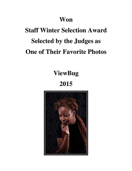 Staff Winter Selection Award