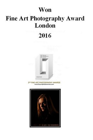 Fine Art Photography Award - London 2016