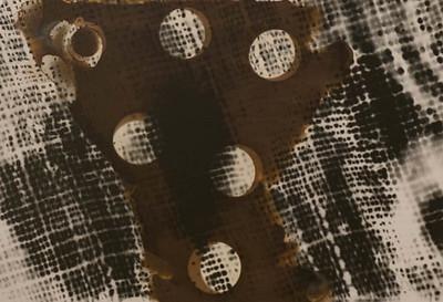 5x7 silver gelatin print, with Van Dyke