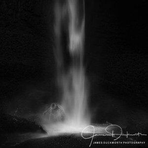 Abstract View of Waterfall