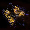 Fireworks Yellow-Blue