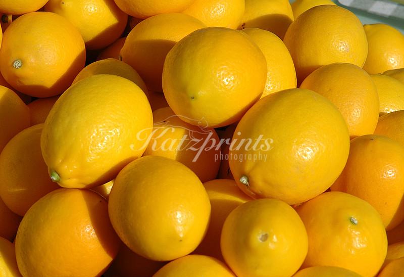 Lemon pile at local Farmer's market