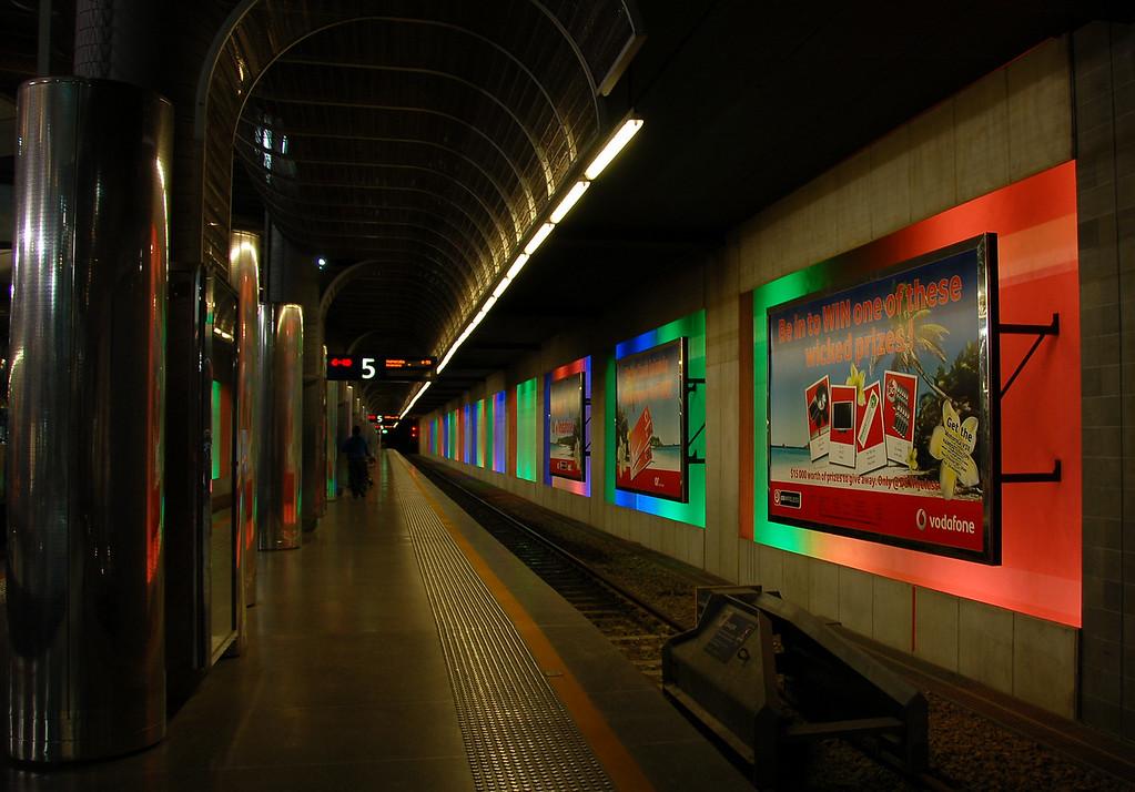 Train Station, Auckland New Zealand