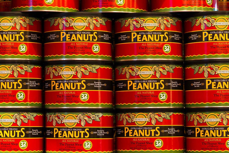 Cans of Peanuts