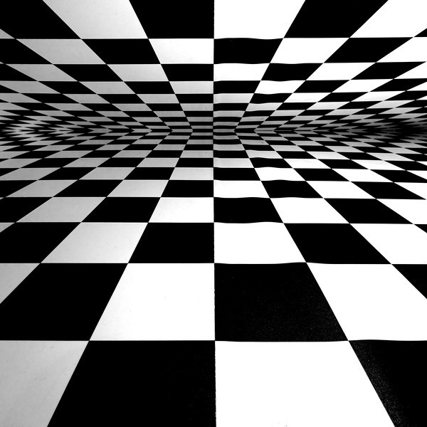 "Checkered floor - Music by Silversun pickups<br /> <br /> <a href=""http://www.youtube.com/watch?v=rfhl36iPLyc"">http://www.youtube.com/watch?v=rfhl36iPLyc</a><br /> <br /> Real shot of a checkered floor, taken at a corporate event in Dever, CO. Mirrored at the top with CS4.<br /> <br /> Nikkor 16-35 @ f8."