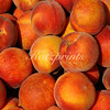 Yellow peaches at local Farmer's market