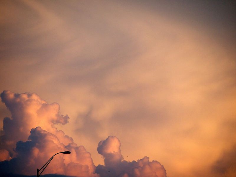 Abstract SoCo Clouds #2 - Austin, Texas