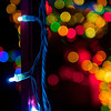 Holiday Bokeh, 37th Street - Austin, Texas