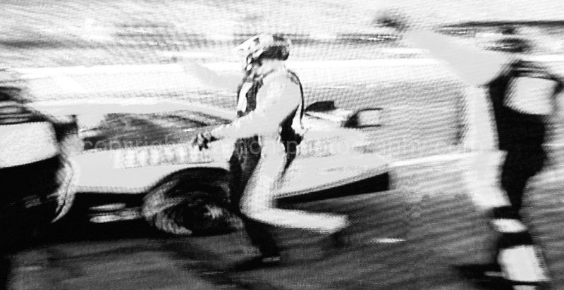 """""""Pit Stop""""  Abstract of #20 Joey Lagano and the Home Depot race team @ the 50th Daytona 500  Inspired by Athena Lonsdale and her dog Cyrus...) Please go to athenaphotography.com and enjoy her Awesome Photograpy!!! Thanx for all of your help Athena !~}"""