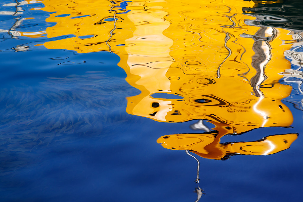 Harbor Reflections III