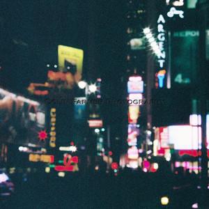 Times Square Bokeh