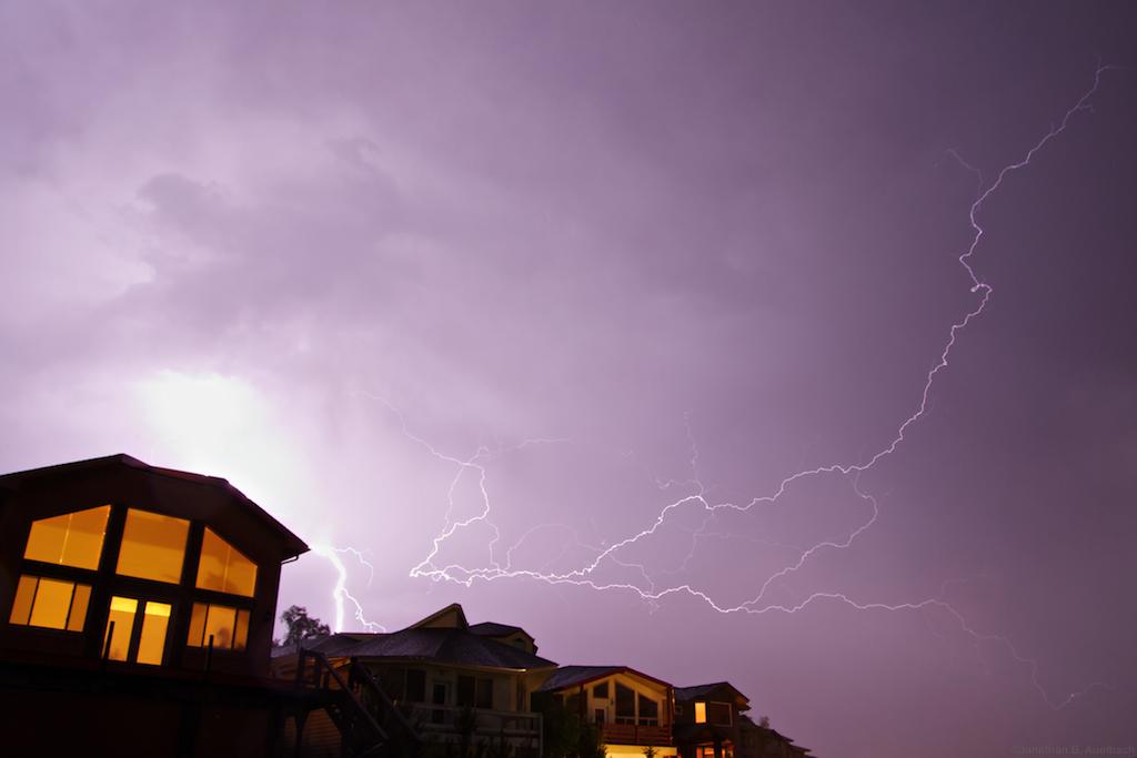 Lightning over 1st Avenue