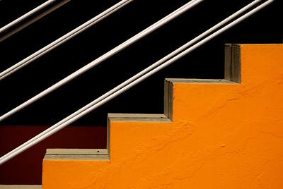 Gelb in Stufen