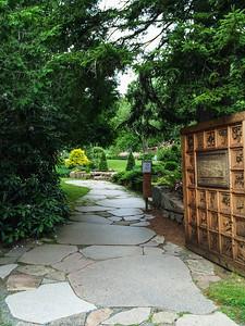 Entrance to Thuya Garden, Northeat Harbor