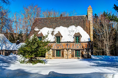 Carriage Road House in Winter