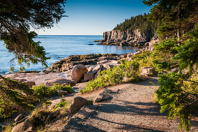Ocean Path to Otter Cliff