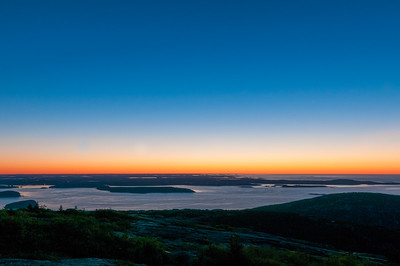 Early Dawn Over Frenchman's Bay