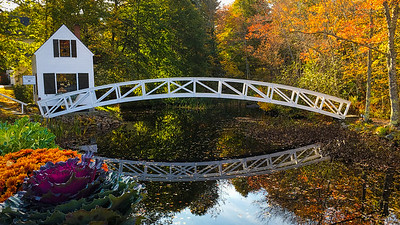 Fall Colors at the Somesville Bridge