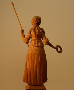 Furniture ornament figure