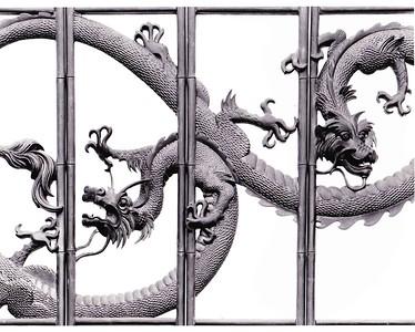 Chinese lantern / detail