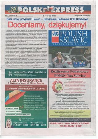 Polski Express 2020-06-03 p 0