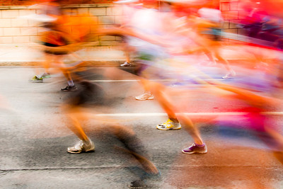 rue Maisonneuve, Marathon de Montréal