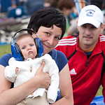 Zoya Mikaela Ross (child) with parents Emika Asani and Damien Ross.  For permission to use photo, contact Damien: rosspainters@yahoo.ca