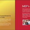 MEF 50th Anniversary Brochure Spread