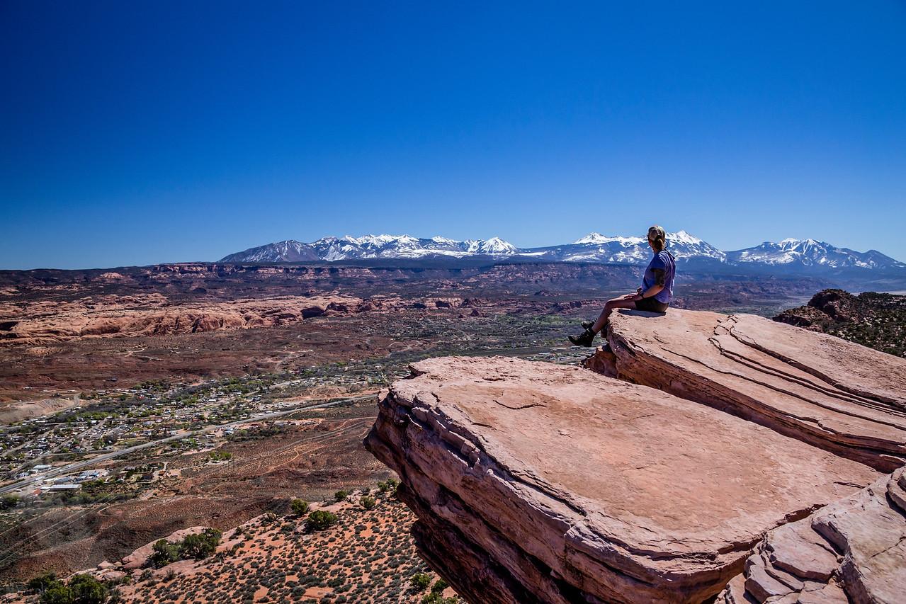 Moab Rim Overlook