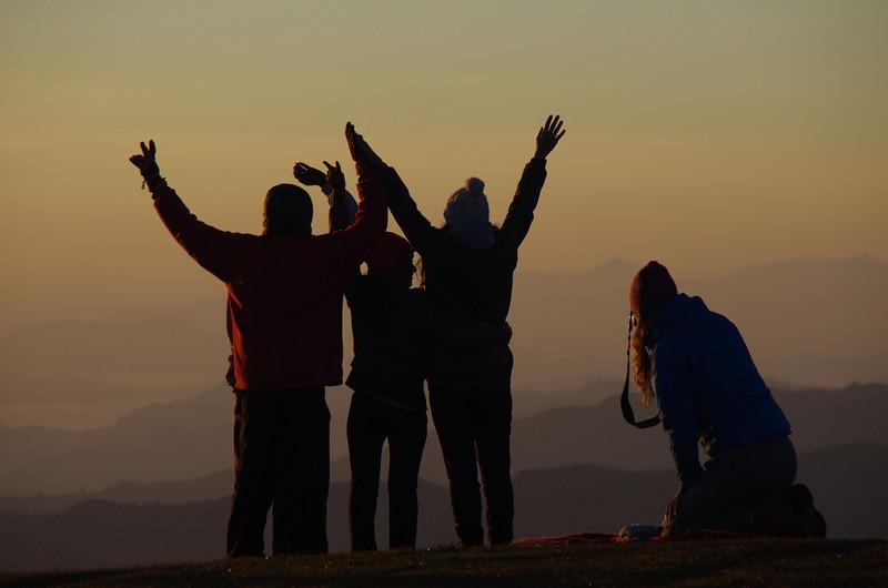 Sunrise at Australia Camp, The Annapurnas, Nepal
